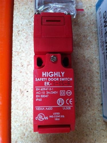 Door Interlock Highly Ek 1 15 R En 60947 5 1 Ac 15 3a