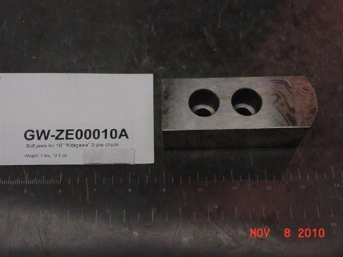 Soft Jaw For Autostrong 10 Quot 3 Jaw Chuck N 210 Nb 210