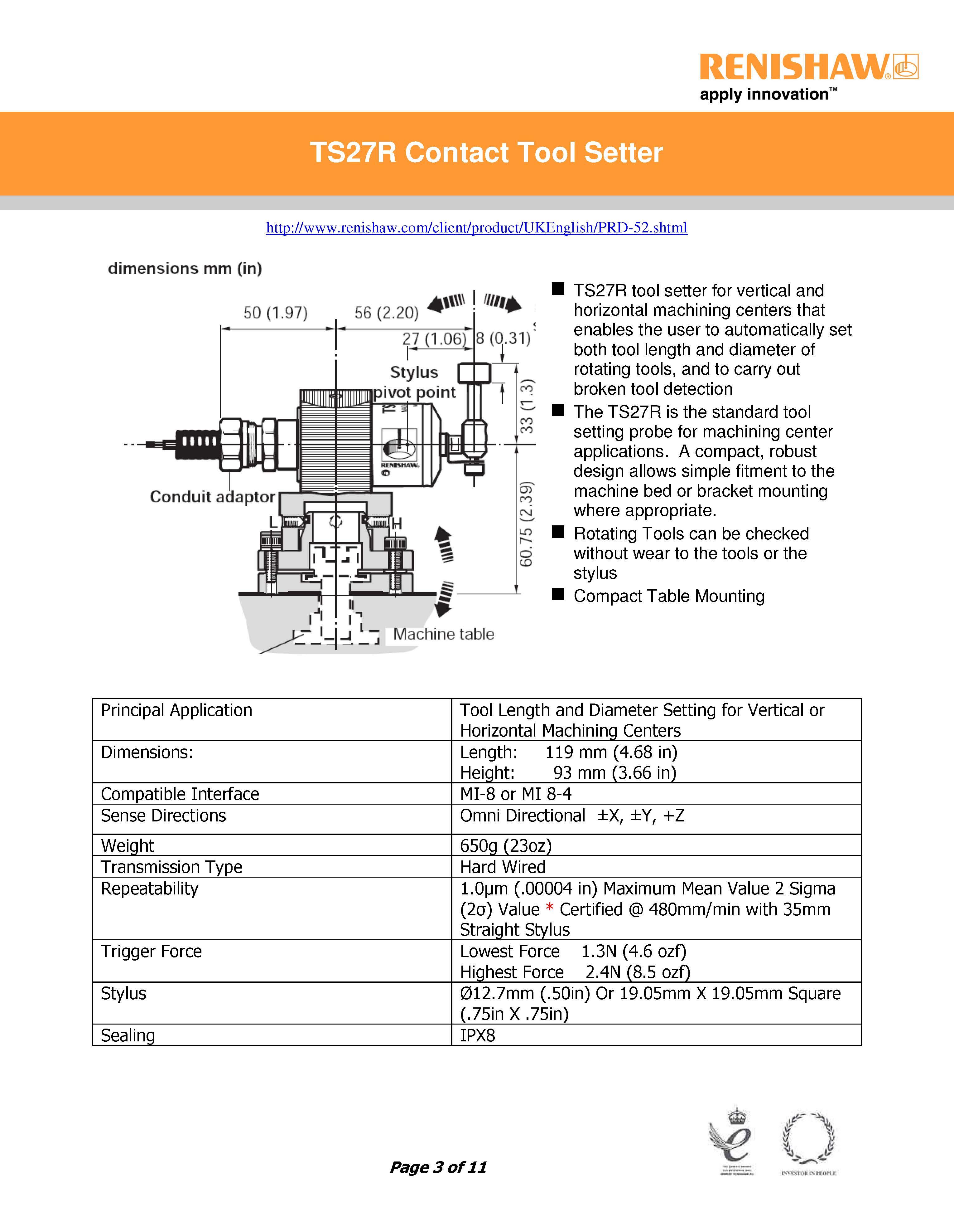 Ts27r Atlm Probe Kit
