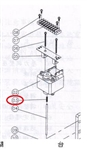 SPRING FOR ELECTRONIC LUBRICATOR (AW-4606B504)