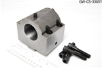 "I.D. 2"" BORING BAR TOOL HOLDER (INTERNAL COOLANT THROUGH) (UN-BORED) FOR GA-300 SERIES"