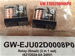 RELAY (SMALL) (621D24-6A 240V) (SET OF 2)