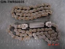 "PARTS CATCHER CHAIN ONLY (15-1/2"") GA SERIES: GA-2000"