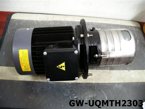 Dayton High Pressure Coolant Pumps : Groufos hydraulic high pressure coolant pump vertical type